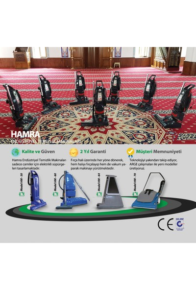 Hamra Hm51 Cami Süpürgesi