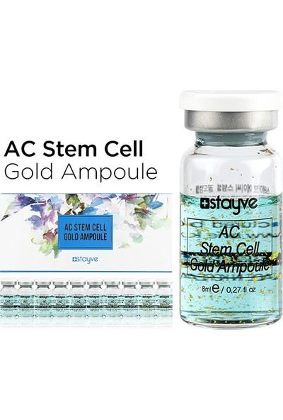 Stayve Ac Stem Cell Gold Ampül Akne ve Sivilce Giderici Pürüzsüzleştirici Tekli Flakon