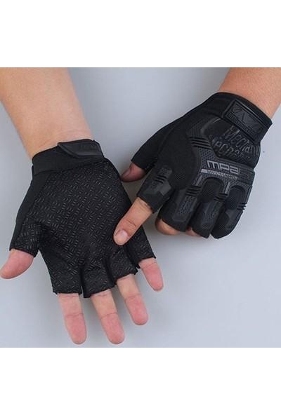 Wear Kısa Parmak Siyah Renk Tactical Eldiven