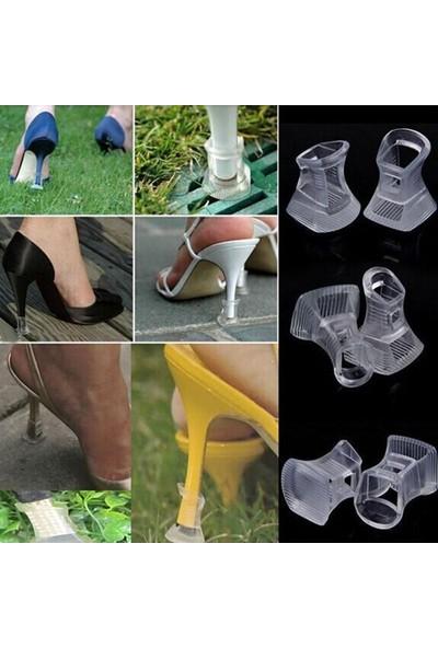Orkidetr Kır Düğünlerine Özel Plastik Topuk Ucu Koruyucu %100 Sert Plastik - Türk Malı