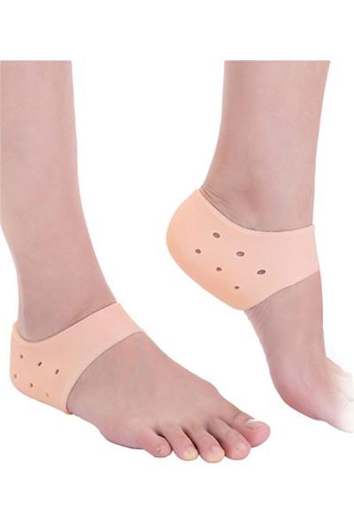 Orkidetr Topuk Çorabı Topuk Yumuşatıcı %100 Silikon - Türk Malı