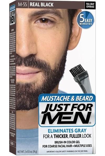 Just For Men Sakal ve Bıyık Boyası Siyah M-55