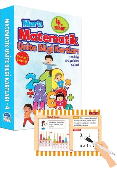 Matematik Ünite Bilgi Kartları 4. Sınıf/Yazsil Özellikli - Emine Sevgi Özen