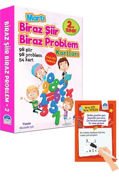 Biraz Şiir Biraz Problem Kartları 2. Sınıf / Yazsil Özellikli - Mustafa Işık