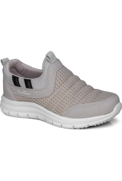 Callion Erkek Çocuk (26-30) Gri Bağcıksız Günlük Spor Ayakkabı