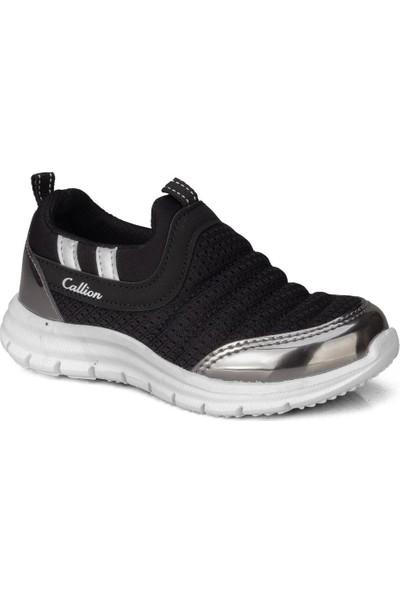 Callion Erkek Çocuk (26-30) Siyah Bağcıksız Günlük Spor Ayakkabı