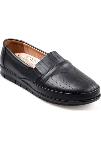 Tardelli Kadın Ortapedik Siyah Günlük Ayakkabı