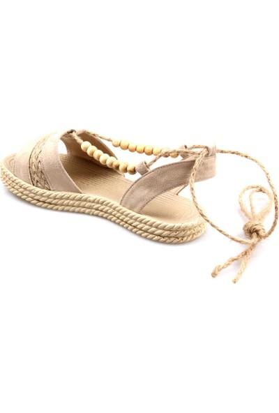 Gizsah Kadın Vizon Sandalet