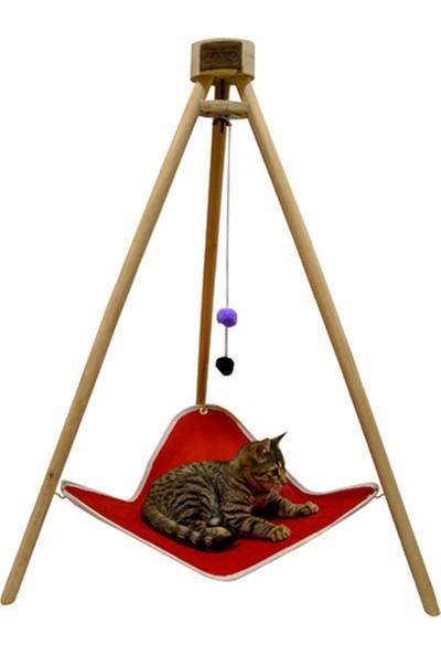 Bundera Tripod Kedi Hamağı ve Yatağı