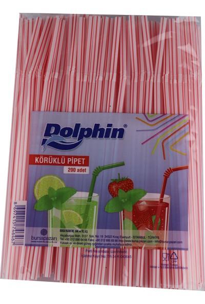 Dolphin Ekonomik Körüklü Pipet 200'lü