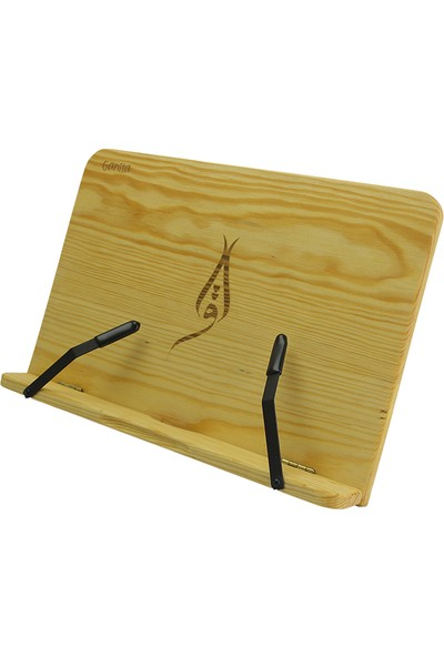 Ganita Wood Ahşap Kitap Tutucu (Çam)