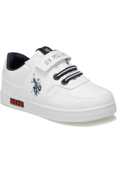U.S. Polo Assn. Cameron Beyaz Erkek Çocuk Sneaker Ayakkabı