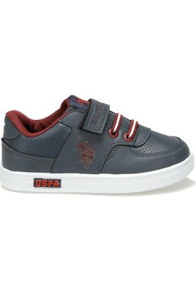 U.S. Polo Assn. Cameron Lacivert Erkek Çocuk Sneaker Ayakkabı