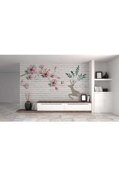 Moda Duvar Sanatsal Duvar Kağıdı 200 x 150 cm Tek Parça Kanvas BASKI-SNT-160017033