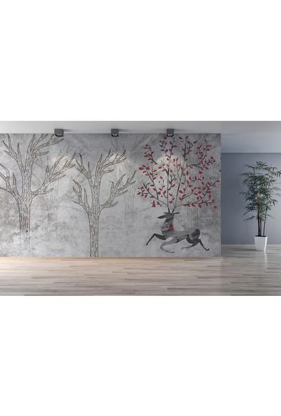 Moda Duvar Sanatsal Duvar Kağıdı 200 x 150 cm Tek Parça Kanvas BASKI-SNT-160017121