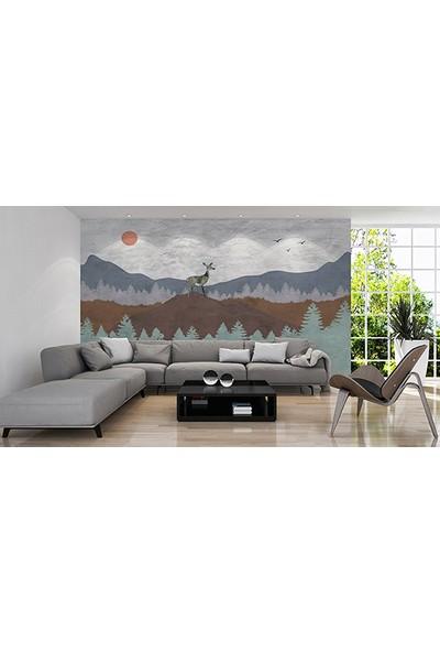 Moda Duvar Sanatsal Duvar Kağıdı 200 x 150 cm Tek Parça Kanvas BASKI-SNT-160017107