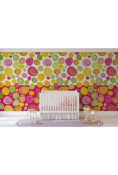 Moda Duvar Çocuk Odası Duvar Kağıdı Tek Parça Kanvas 200 x 260 cm CBO-50017005