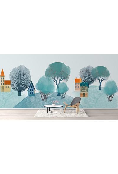Moda Duvar Sanatsal Duvar Kağıdı 200 x 150 cm Tek Parça Kanvas BASKI-SNT-160017052