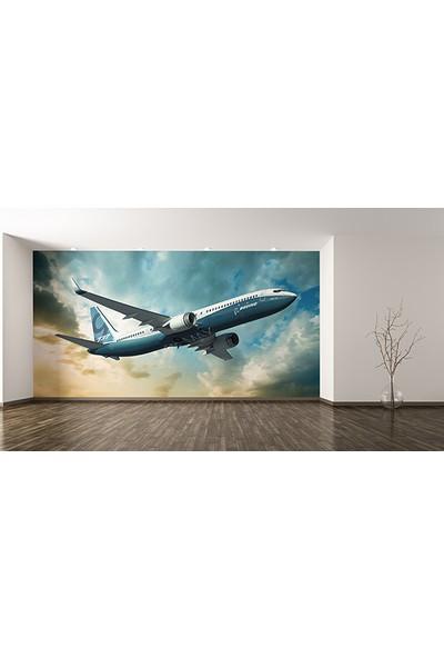 Moda Duvar Gökyüzündeki Uçak Duvar Kağıdı Tek Parça Kanvas 200 x 260 cm ARC-UC-11117064