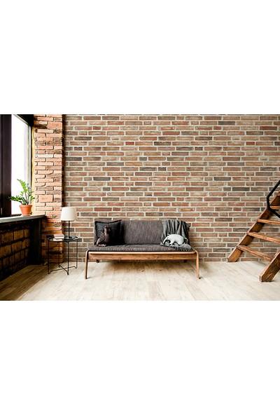 Moda Duvar Taş Desenli Duvar Kağıdı 200 x 260 cm Tek Parça Kanvas Baskı TD-190017077