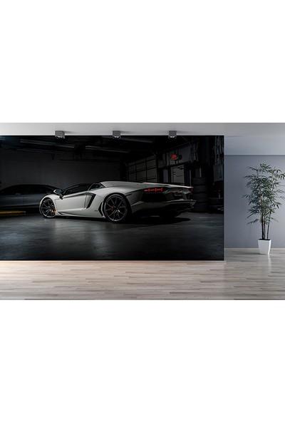 Moda Duvar Lamborghini Aventador Duvar Kağıdı Tek Parça Kanvas 200 x 260 cm ARC-SP-10717034