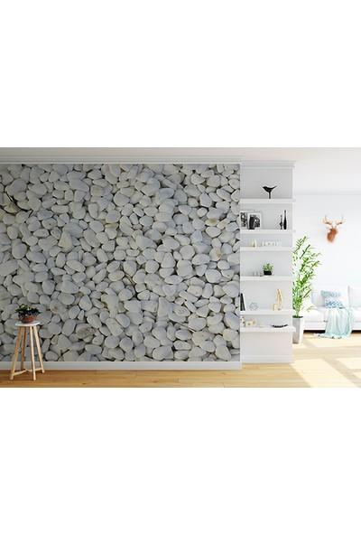 Moda Duvar Taş Desenli Duvar Kağıdı 200 x 260 cm Tek Parça Kanvas Baskı TD-190017023