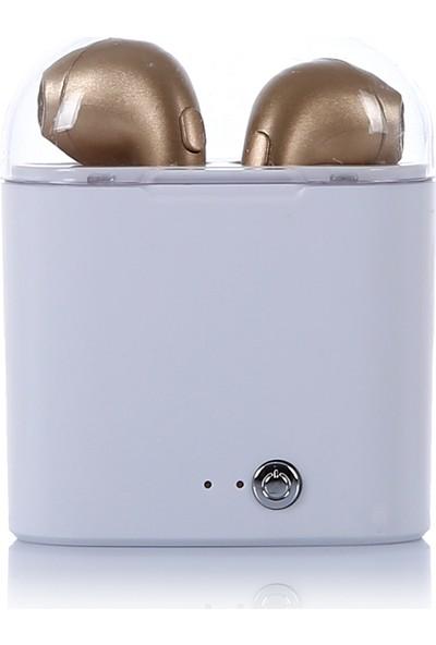 Tws i7 Bluetooth Kulaklık Gold