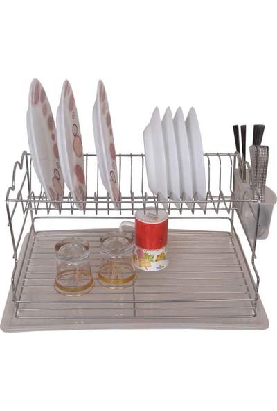 Emsa Metal Mutfak Set Üstü Şık Tabaklık