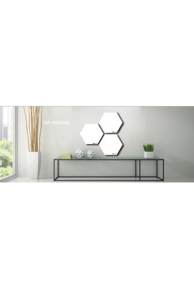 Kuas Isp Metal Panel İnfrared Isitici He x agon 90 Elektri̇kli̇ 600 Watt 900 x 780 x 25