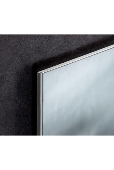Kuas Beyaz Cam Panel İnfrared Isitici Isp-G 300 Watt 620 x 420 x 40 cm