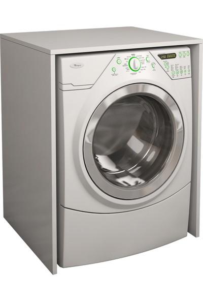 Banos Cm1 Kapaksız Çamaşır Makinesi Alt Dolabı - Beyaz