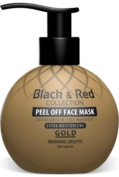 Black & Red Soyulabilir Yüz Maskesi Gold 250 ml