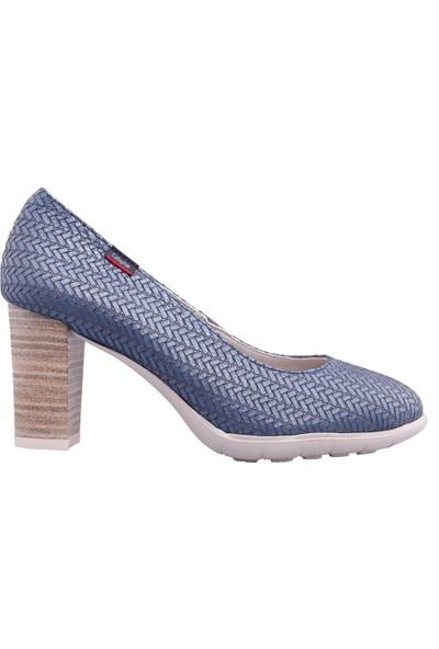 Callaghan Kadın Baskı Deri Ayakkabı