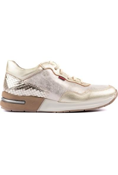 Callaghan Kadın Baskı Deri Sneaker