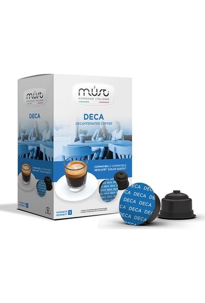 Must 10'lu Avantaj Paketi Deca – Dolce Gusto® Uyumlu Kahve Kapsülleri