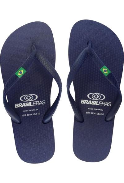 Brasileras Classic Çocuk Terlik Mavi 27-34