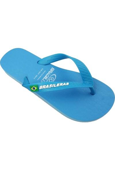 Brasileras Classic Çocuk Terlik Light Mavi 27-34