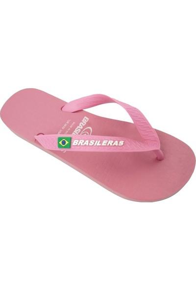 Brasileras Classic Çocuk Terlik Pembe 27-34