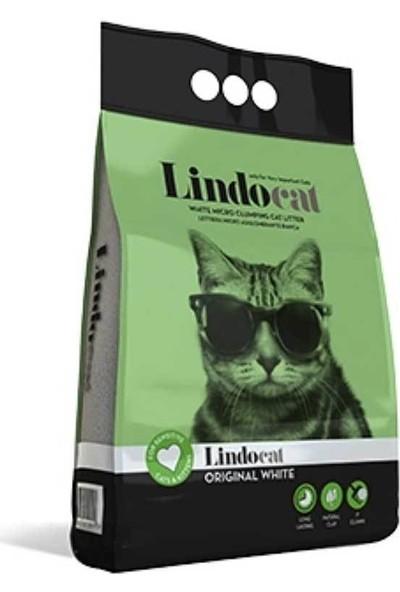 Lindo Cat Bentonit Topaklanan Kokusuz İnce Taneli Kedi Kumu 5 L