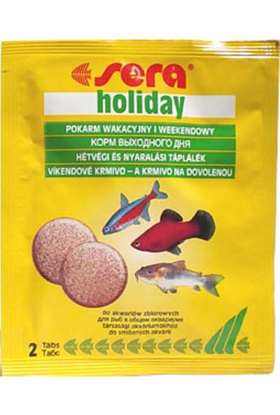 Sera Holiday Tablet Balık Tatil Yem 2 Tablet
