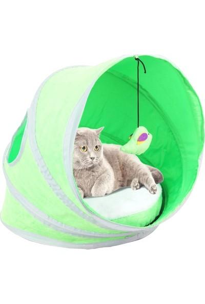 Pawise Yataklı Kedi Çadırı 38 - 38 - 43 Cm