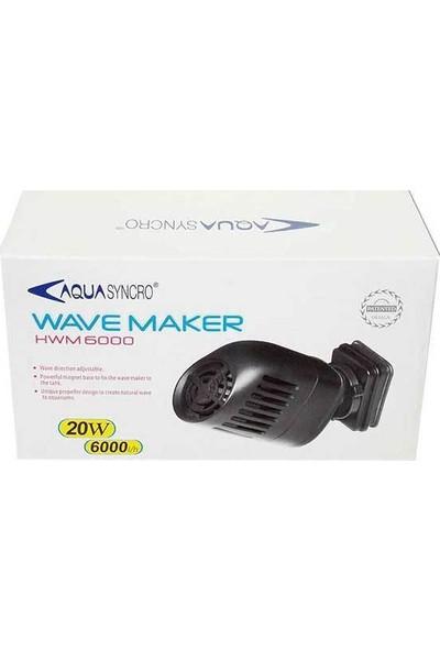 Aqua Syncro Hwm 6000 Akvaryum Dalga Motoru 20 Watt - 6000 L/Hr