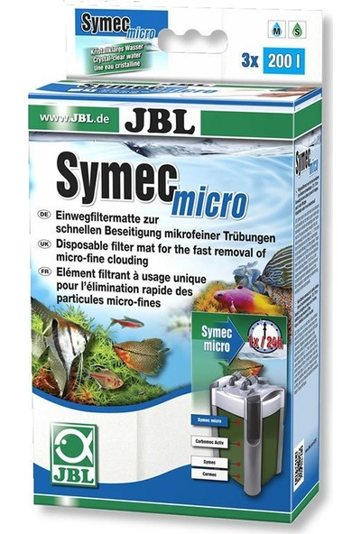 Jbl Symec Micro Elyaf 25 Cm X 75 Cm