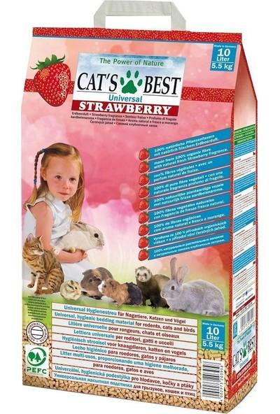 Cats Best Universal Çilek Kokulu Hayvan Altlığı 10 L / 5.50 Kg