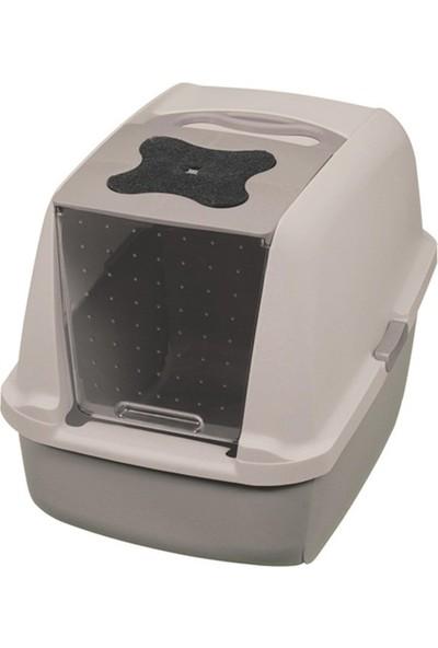 Catit Kapalı Tuvalet Kabı Gri (57X46.5X39 Cm)