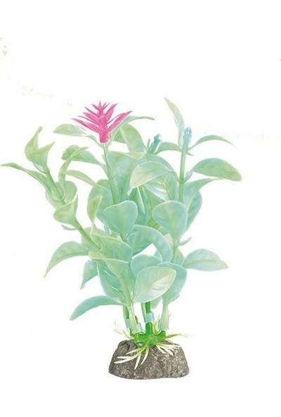 Aquatic-Plants Akvaryum İçin Plastik Bitki 10 Cm
