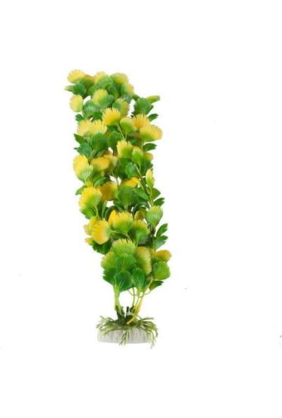 Aquatic-Plants Akvaryum İçin Plastik Bitki 40 Cm 069E