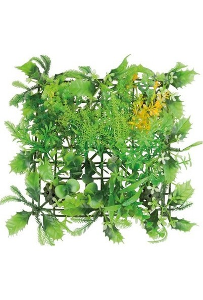 Aquatic-Plants Yeşil Dikdörtgen Akvaryum Plastik Bitki