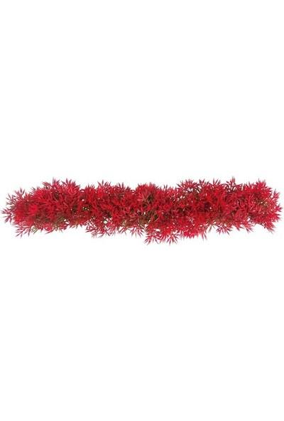 Aquatic-Plants Plastik Kırmızı Bitki 15-28 Cm