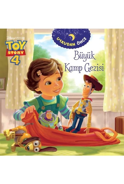 Dısney Toy Story Uykudan Önce Büyük Kamp Gezisi